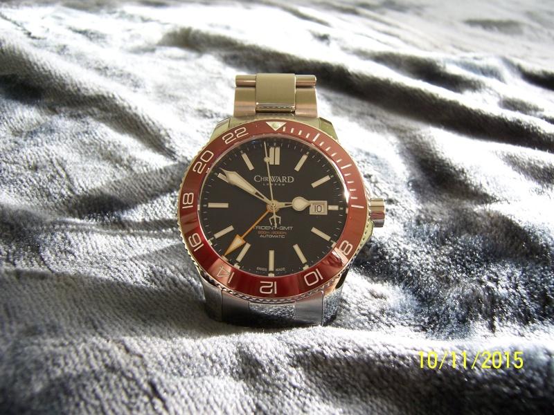 ward - Revue de la montre Christopher Ward TRIDENT C60-GMT600  en version 42 mm. 100_2636