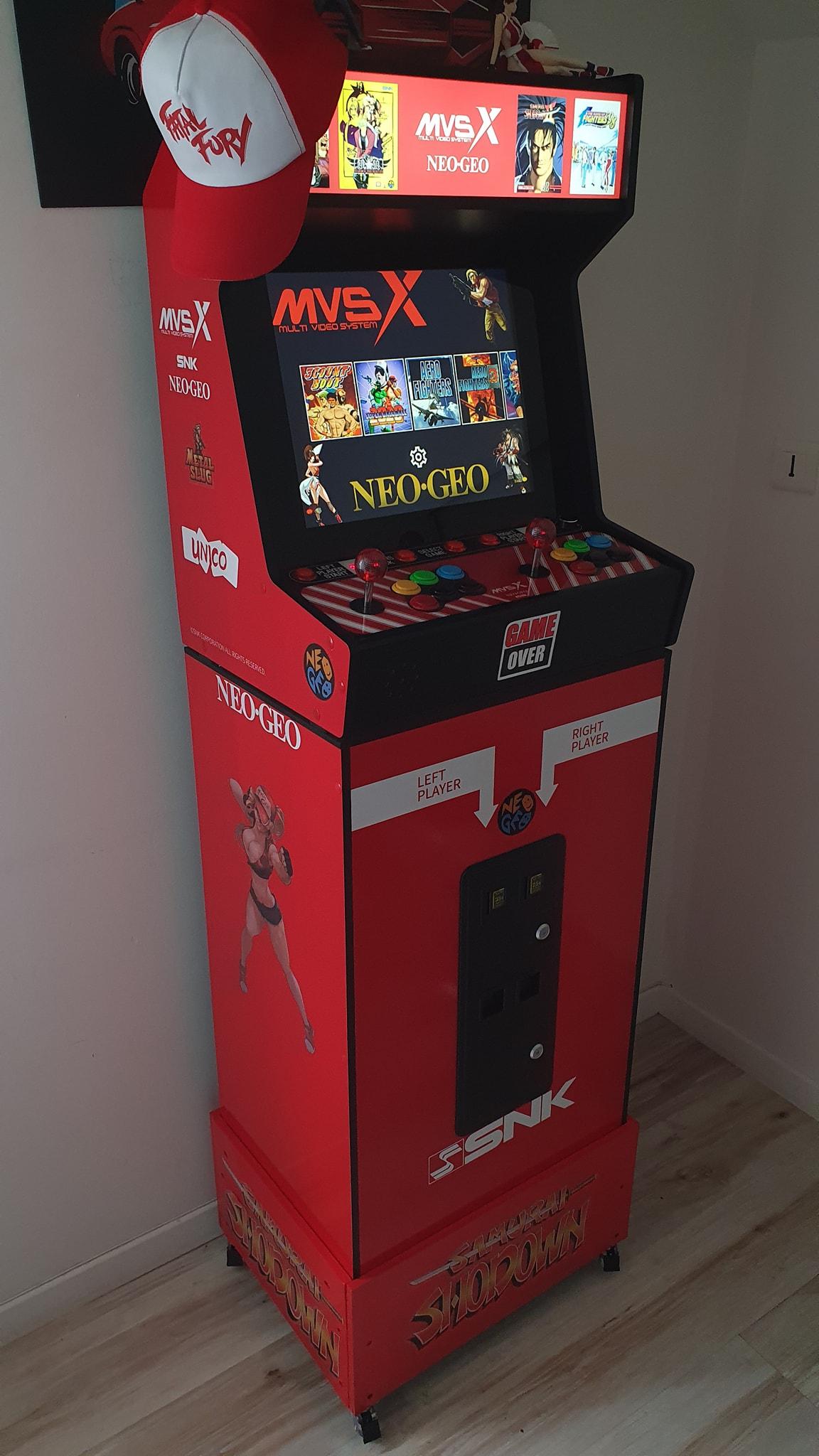 Mon Bartop Neo Geo MVSX 19485210
