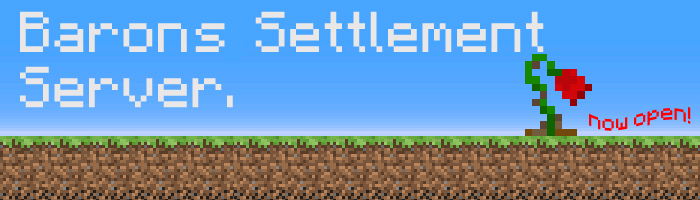Barons Settlement Server