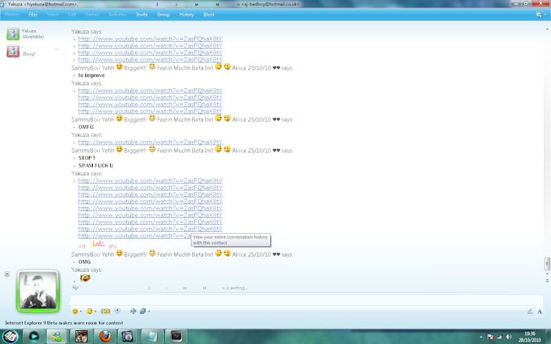 Yakuza And His Challenge Spam LOL! Spam1111