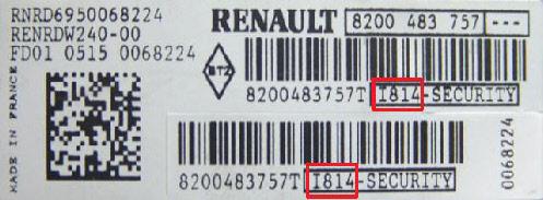 Code autoradio gratuit Wpd49f10