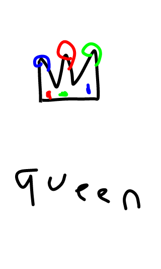 star draws pictures of you here Queen10