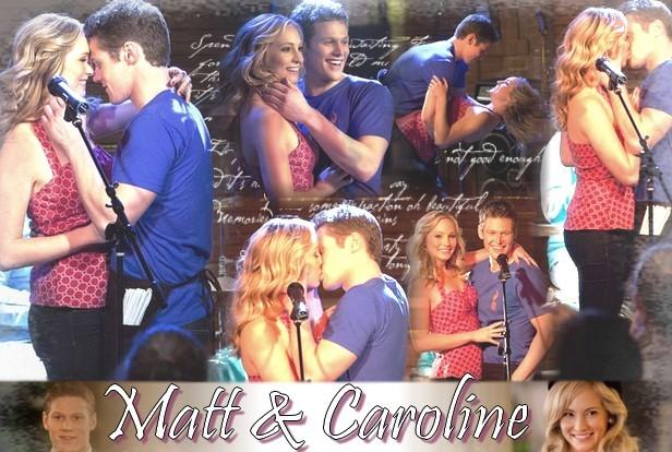 Matt et Caroline Vampire Diaries