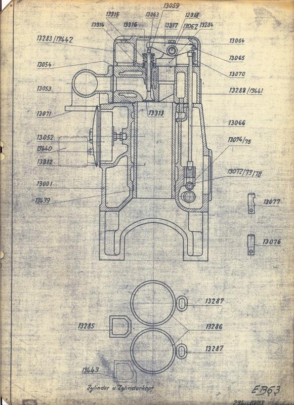 Suche Informationen zum O&K Motor Typ V113 Motor310