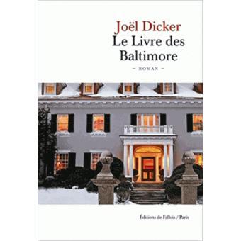 Le livre des Baltimore de Joël Dicker 1540-110