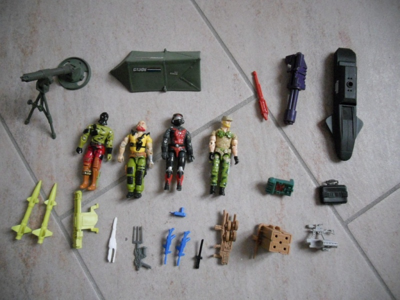 CERCO G.I.JOE GIJOE GI JOE G.I. JOE ARAH HASBRO COBRA ENEMY LOTTO Dscn9410
