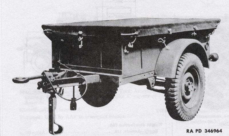 Jeep Danbury 1/16e, motorisée Sumo + remorque Bantam 1/4 t Amphib10