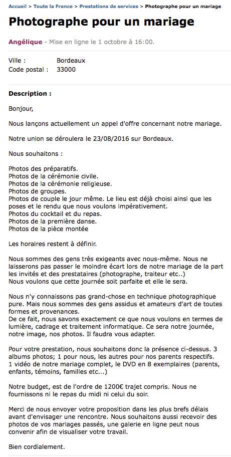 Vous cherchez un bon photographe pour votre mariage ? :-D Arnaud10