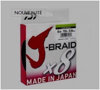 Nouvelle tresse Daiwa jbraid 8 brins à super prix  Da10