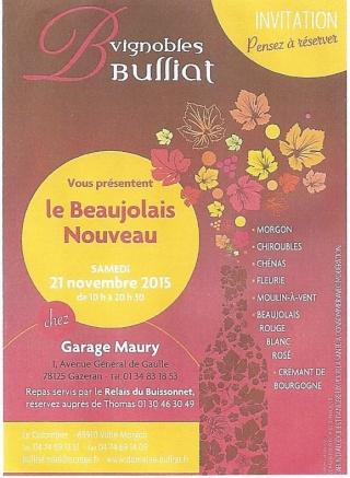 Beaujolais Nouveau au garage Maury 00114
