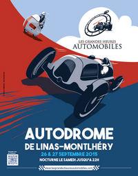 Les Grandes Heures Automobiles à Linas-Montlhéry: 26 et 27 septembre 2015 Affich10