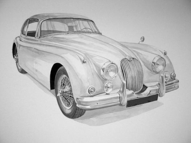 Gérard CREVON - Atelier de Blainville Jaguar10