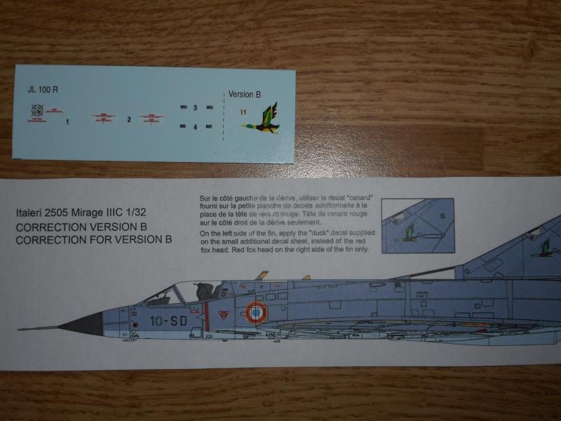 Dassault Mirage III C Italeri 1/32 - Page 2 Dscn9120