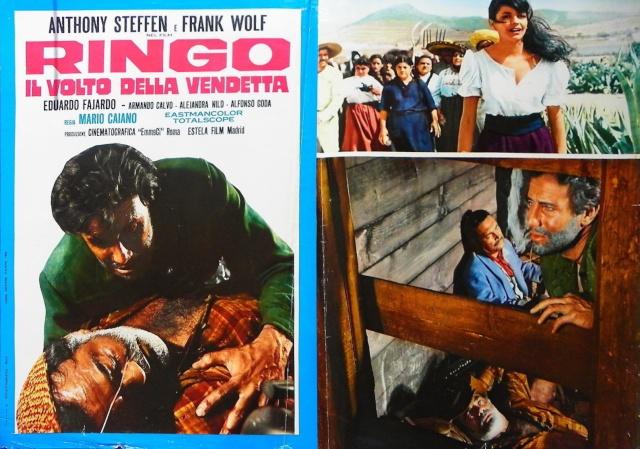 La vengeance de Ringo ( Ringo il volto della vendetta ) – 1966 – Mario CAIANO Lobby_10