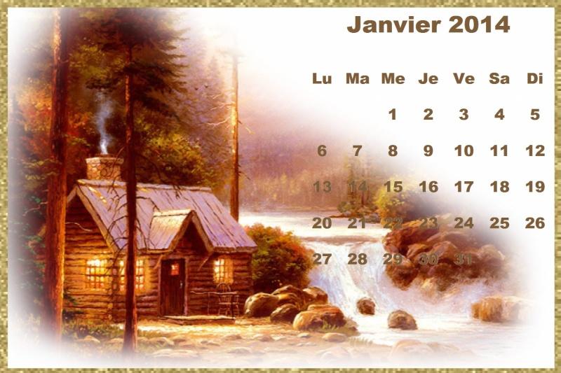 CALENDRIERS ORIGINAUX DES MOIS DE L ANNEE PAR ORDRE ALPHABETIQUE - Page 3 Janvie11