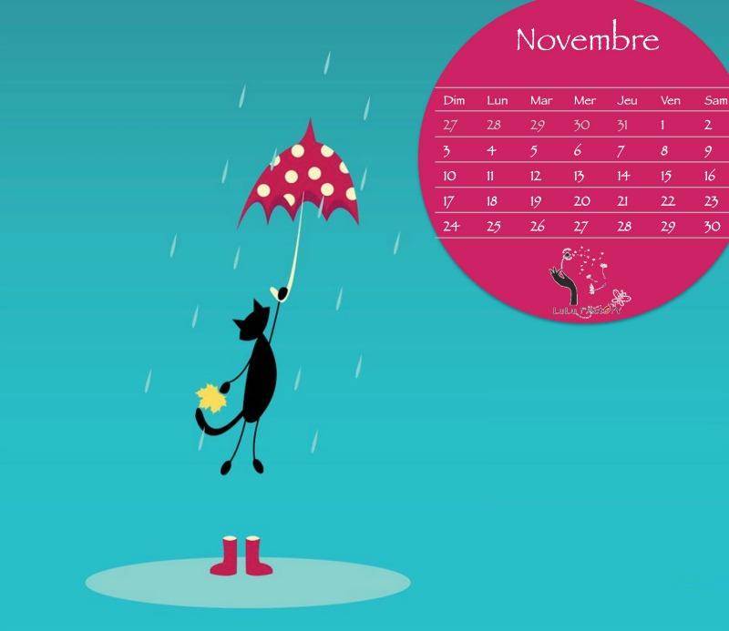 CALENDRIERS ORIGINAUX DES MOIS DE L ANNEE PAR ORDRE ALPHABETIQUE - Page 4 Novemb13
