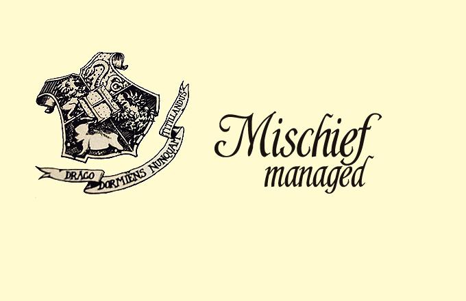 Mischief Manageed Header10