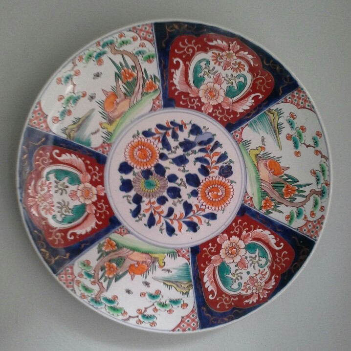 Japanese? quite big plate 20150922