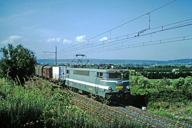 BB 9200 entre Remoulins et Nimes 1992 Bb-92012