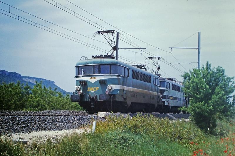 Ligne de la Rive droite du Rhône Givors-Canal Le Teil Nimes Bb-94015