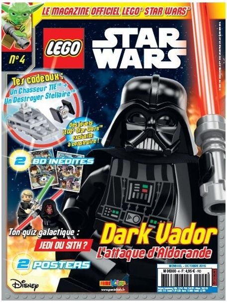 Magazine Panini STAR WARS LEGO #4 Captur10