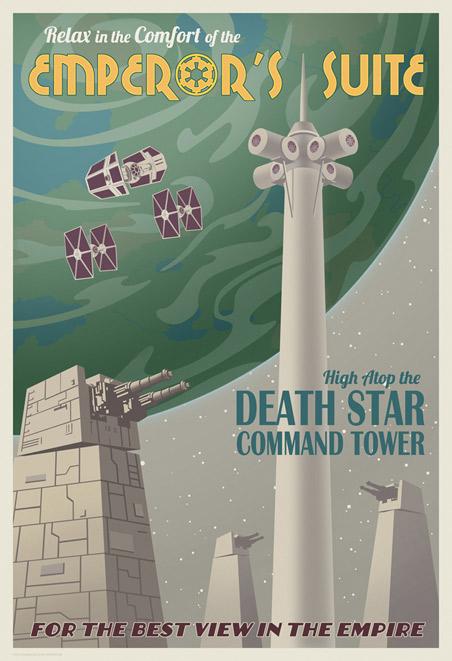 ACME - Steve Thomas - Star Wars Travel Posters  Swotlt10
