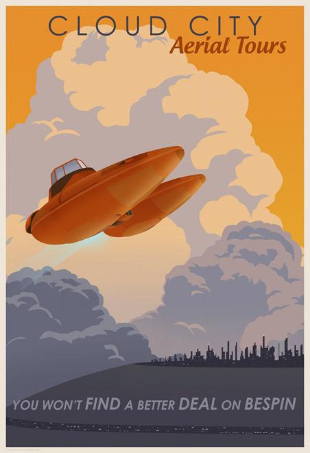 ACME - Steve Thomas - Star Wars Travel Posters  Swotlt11