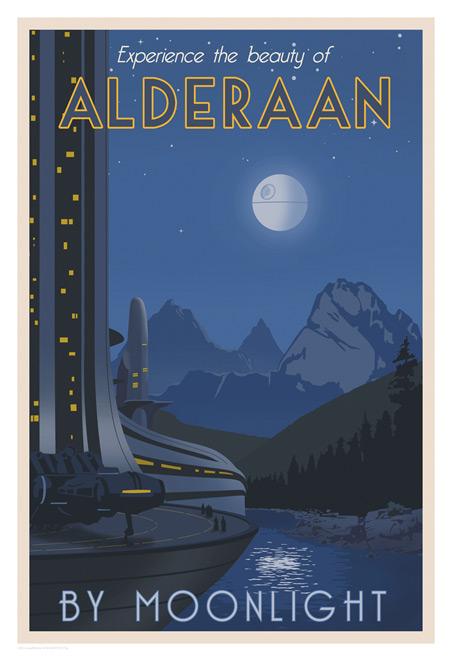 ACME - Steve Thomas - Star Wars Travel Posters  Swotlt13