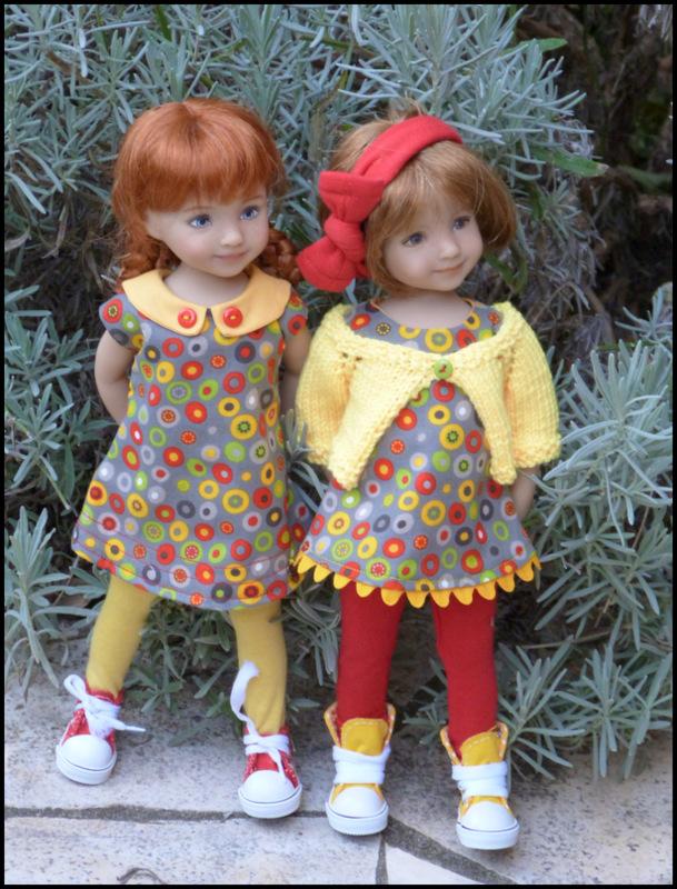 dernières tenues d'automne pour mes petites Darling P7  P1360013