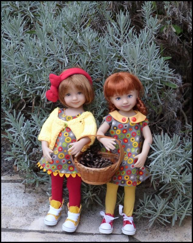 dernières tenues d'automne pour mes petites Darling P7  P1360014