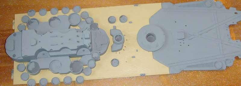 Montage de mon Yamato 1/350 par golman62 Pont_a10