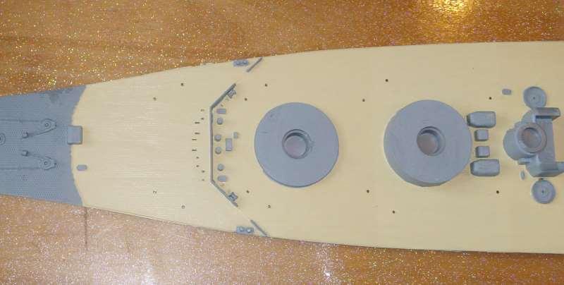Montage de mon Yamato 1/350 par golman62 Pont_a11