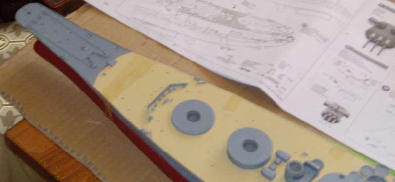 Montage de mon Yamato 1/350 par golman62 Snv30037