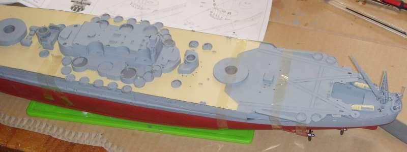 Montage de mon Yamato 1/350 par golman62 Snv30038