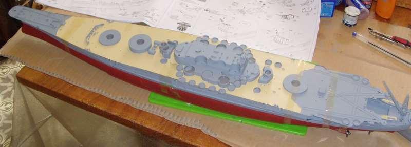 Montage de mon Yamato 1/350 par golman62 Snv30039