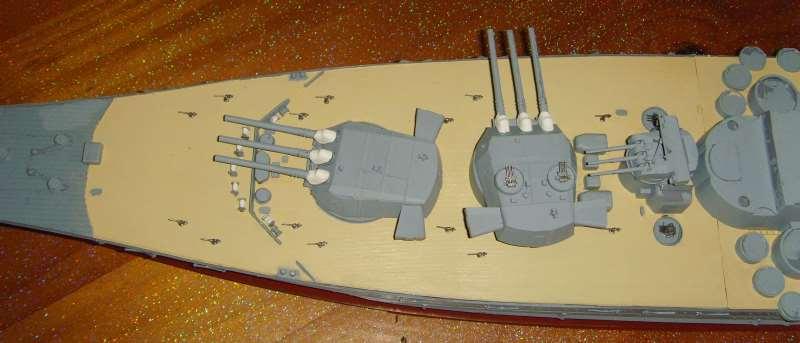 Montage de mon Yamato 1/350 par golman62 Snv30112