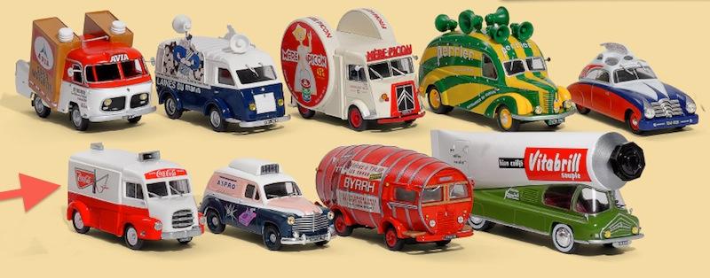 2015 > NOUVEAU > Hachette Collections + AUTO PLUS > La fabuleuse histoire des véhicules publicitaires Captur30