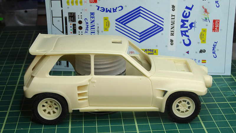 Nouvelle kit resine Renault 5 Maxi Turbo  - Page 2 Camel10