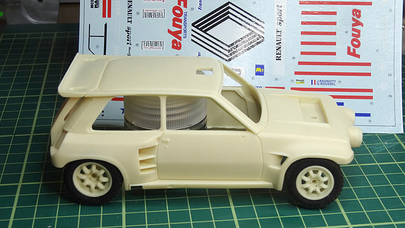 Nouvelle kit resine Renault 5 Maxi Turbo  - Page 2 Fouya10