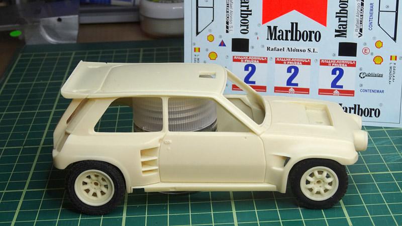 Nouvelle kit resine Renault 5 Maxi Turbo  - Page 2 Marlbo10