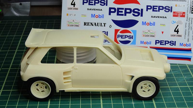 Nouvelle kit resine Renault 5 Maxi Turbo  - Page 2 Pepsi10