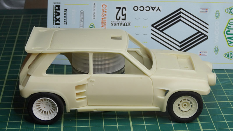 Nouvelle kit resine Renault 5 Maxi Turbo  - Page 2 Yacco11