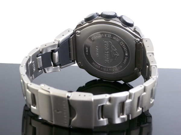 Bracelet métal des montres G-Shock, pas de sécurité ? Prw-1510