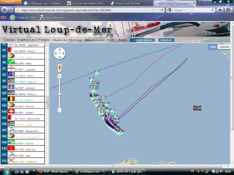 Trophée les 2 pointes sur VLM le 10 avril 12h gmt Captur61
