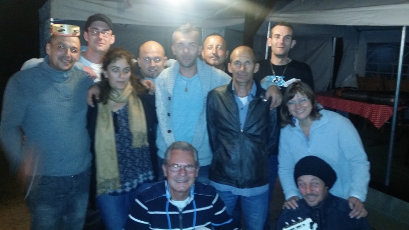 Visite surprise de Franky à la fiesta Picardie 20150914