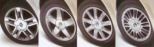 Récapitulatif des finitions Renault Mégane 2 phase 1 et 2 (2002-2009) 4_jant11