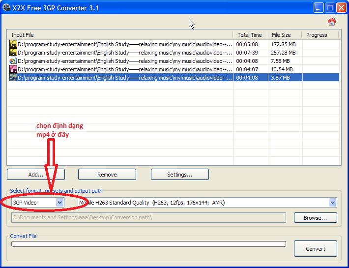 X2X Free 3GP Converter 2.0 – Chuyển đổi video miễn phí cho điện thoại di động Img-1210