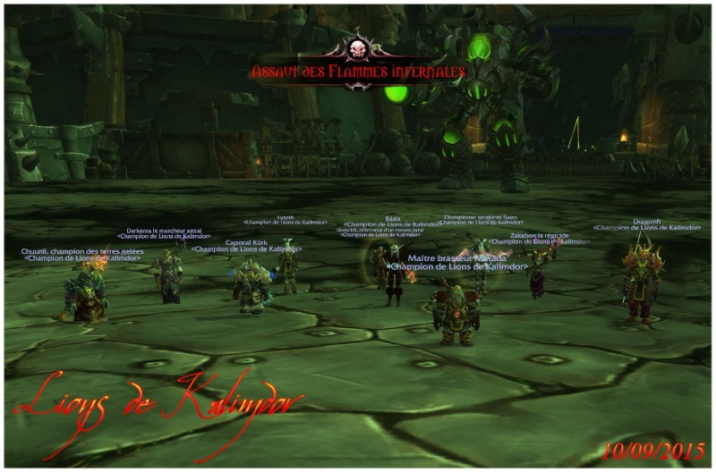 Le forum des Lions de Kalimdor - Portail Citade12