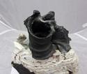 Studio Sculptural Vase - Probably Eddie Curtis  P1020411
