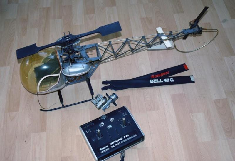 Graupner Bell 47G Heli110